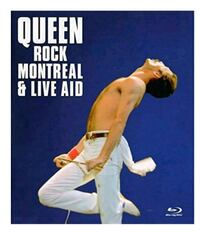 QUEEN - ROCK MONTREAL & LIVE AID BLU-RAY Brand New Laval, H7P 5V3