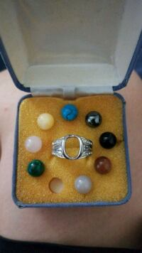 Silver Ring with changeable stones Citrus Heights, 95621