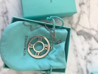 Tiffany & Co Necklace Atlas Collection