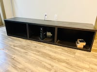 Tv unit stand shelf floating with legs Houston, 77007