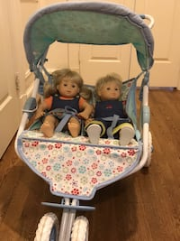 American Girl Doll Bitty Baby double stroller Potomac, 20854