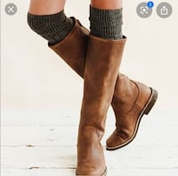 Roots leather equestrian boots London, N6C 5B8
