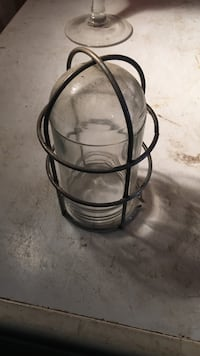 Set of 3 light covers with cages
