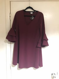 Medium Burgundy Dress Newark, 07112