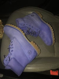 Royal Blue Timberlands  Chicago, 60616