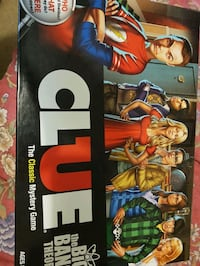 The Big Bang Theory Clue. Played once.  Longueuil, J3Y 2Y9