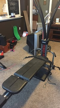 Black and gray exercise bench Norton, 02766