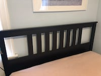 Hemnes Black Bed Frame- IKEA and in good condition. Queen Size. Available now in West Hollywood. Los Angeles, 90046