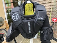 Warrior youth goalie adjustable chest pad