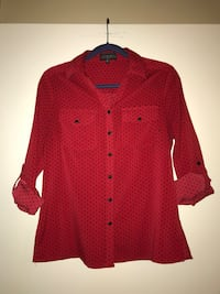 Red and Black Button Up College Station, 77840