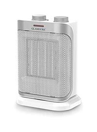 Ceramic Space Heater with 1500W ETL Listed Oscillating Hot & Cool PTC Heater (White), Adjustable Thermostat, Overheat Protection 932 mi