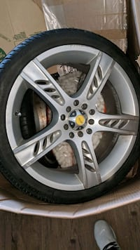 """4 17"""" Focal rims with tires Los Angeles, 90026"""