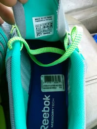 pair of green-and-blue Adidas sneakers Lubbock, 79416