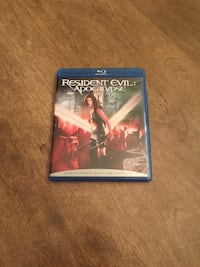Resident Evil Apocalypse Movie Blu-Ray disc