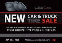 New Tires for sale Hamilton, L8P 2T6