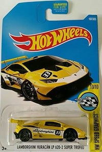 Hot Wheels Lamborghini Huracan LP 620-2 Super Trofeo Oklahoma City
