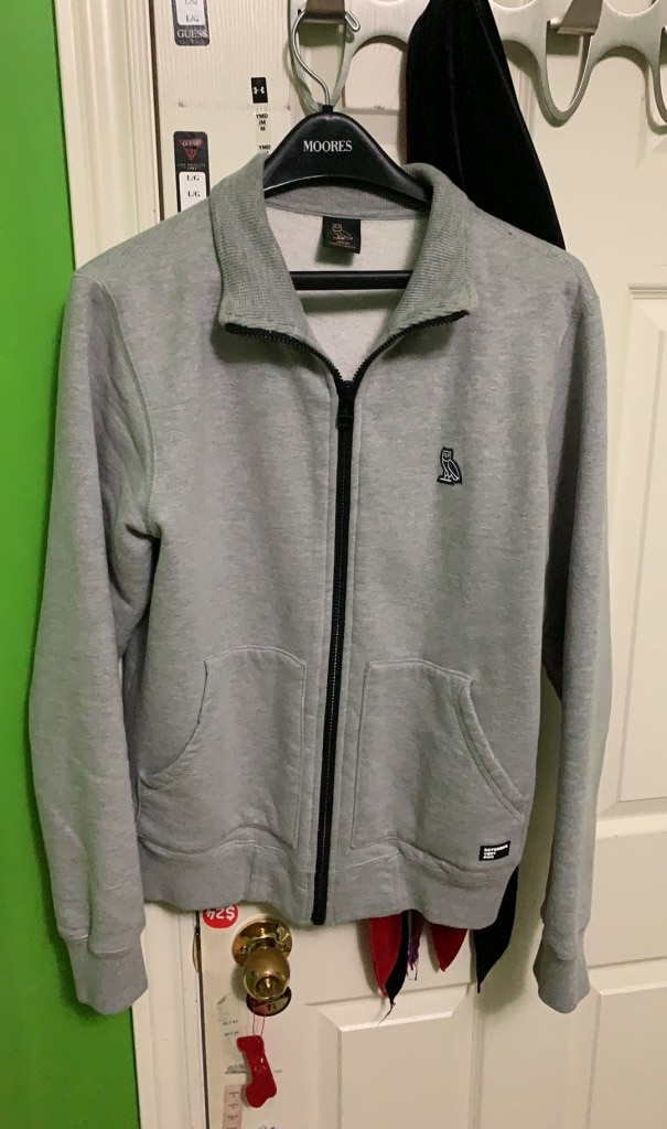NEW Adidas Youth L Blue Quarter Zip Short Sleeve Triple Stripe Baseball Jacket
