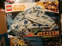 Starwars millenium falcon 1414 pieces  3149 km