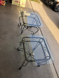 Glass coffee table and side tables  Cerritos, 90703