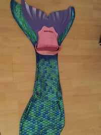 Women's blue and green mermaid tail Laval, H7T 2S1