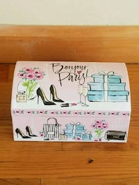 "New Pink ""Bonjour Paris"" Jewelry Box Indianapolis, 46256"