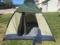 Hillary large 4 person tent Colorado Springs, 80905