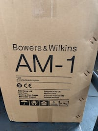 Bowers & Wilkins AM-1 Outdoor Speakers(Pair) Franklin Square, 11010