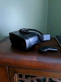 black and gray Samsung Gear VR with remote Kansas City, 64155