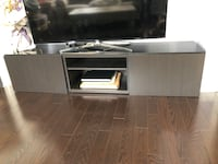 Glass top TV stand Newmarket, L3X 3H6