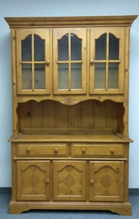China Cabinet w/ dining chairs