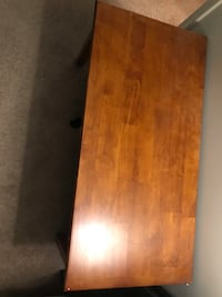 rectangular brown wooden coffee table Waltham, 02452