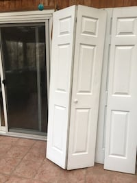 3 bifold closed or pantry doors, 30x80 inches Gaithersburg, 20879