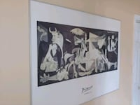 48x36 PICASSO GUERNICA 1937    Silver Spring, 20902