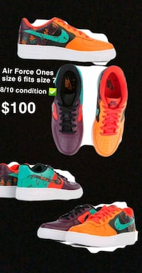 Air force ones 8/10 condition  Toronto, M5A 2B9