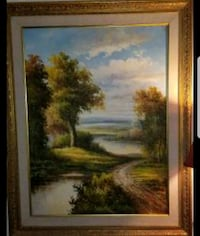 HUGE canvas painting and frame Schenectady, 12304