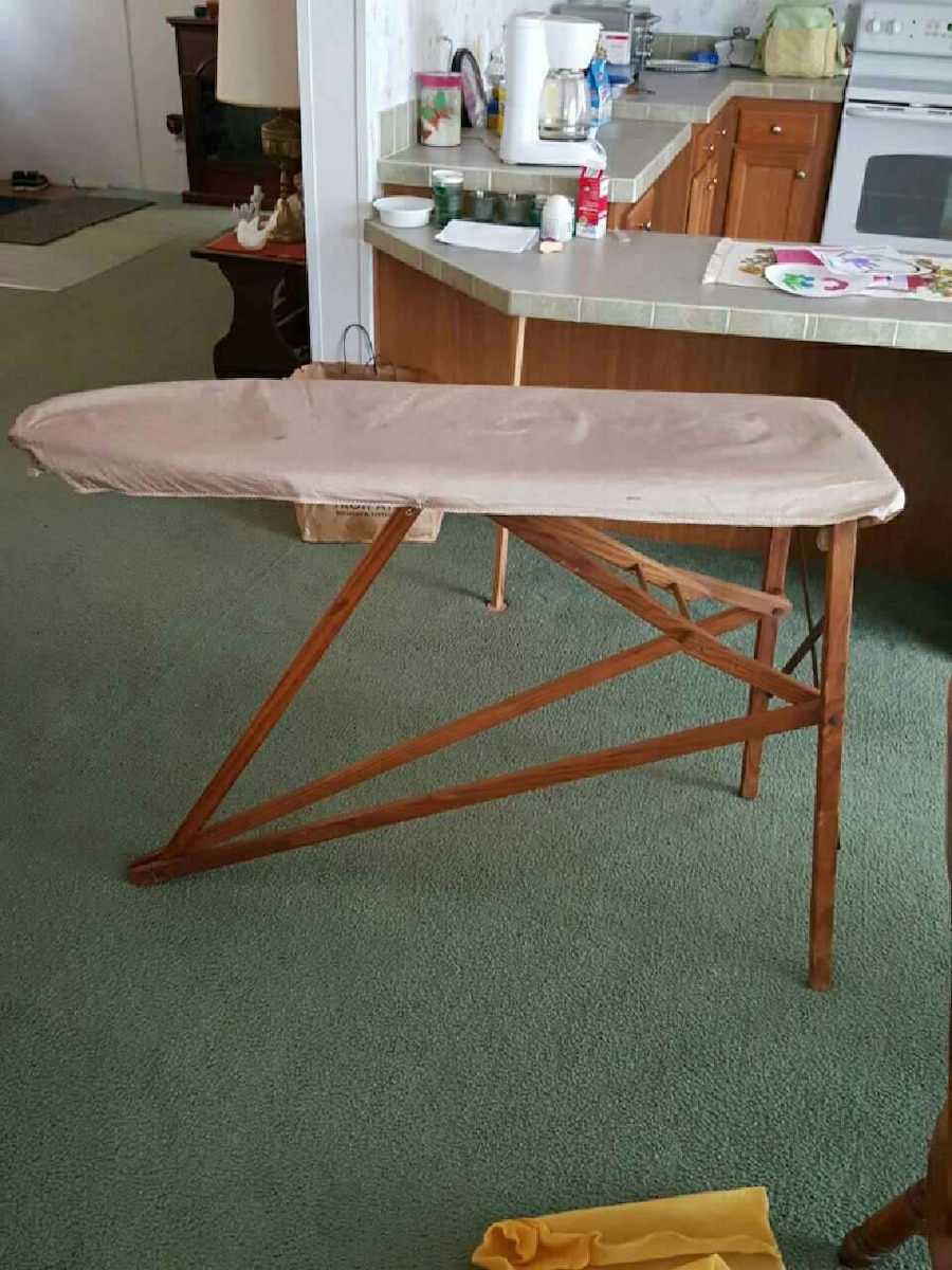 Fold up ironing board - Antique Fold Up Ironing Board