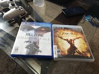 Sony ps games and case South Bend, 46617