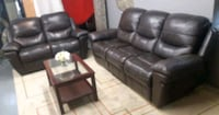 Recliner sofa set / delivery available Mississauga, L4Y 1P2