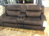POWER RECLINER SOFA w middle storage unit ,cupholders and USB ports Baltimore, 21205