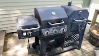 gray charcoal and gas grill Springfield, 65802