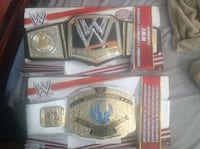 Wwe toy belts  Brampton, L7A 2R1