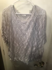 Size 1X lace top grey Kingman, 86409
