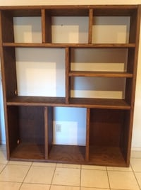 GREAT! 6ft.x 5ft. solid wood w/ 9 cubby holes !!ni Von Ormy, 78073
