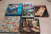 Lot of 9 Puzzles Tracy, 95377