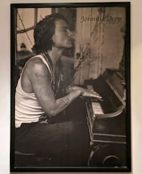 'Johnny Depp' Poster + Frame!