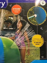 Discovery Kids Sprinkler Ball Attachable to Water-hose