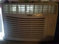 white Haier window type air conditioner Vancouver, 98684