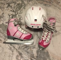 Pair of pink ice skate Winnipeg, R3Y