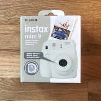Instax Mini 9 White, New, Never Used. Paid $113 Richmond Hill, L4C 6V5