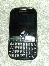 black Samsung qwerty phone Hillsboro, 97123
